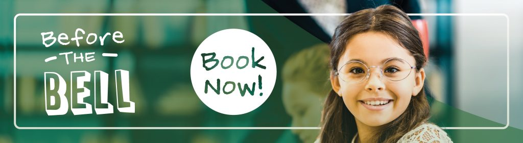 Back to school. Book now